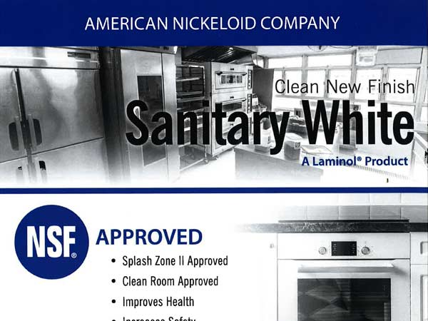 Sanitary White Brochure